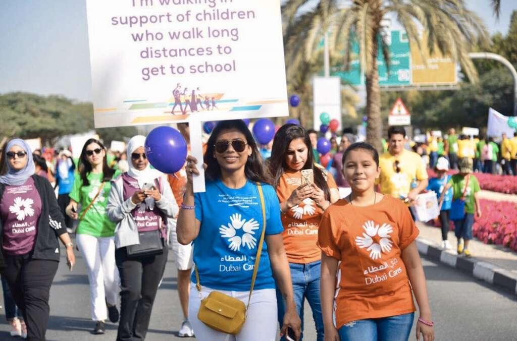 Dubai Cares, Walk for Education,Education
