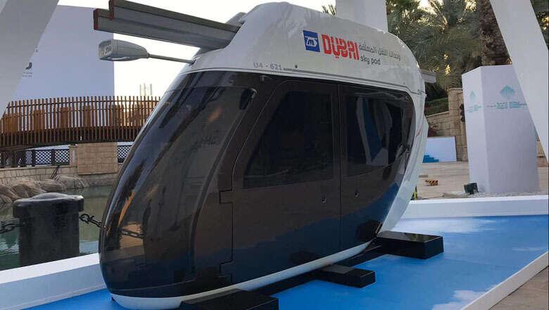 Soon, you can go around Dubai on Sky pods
