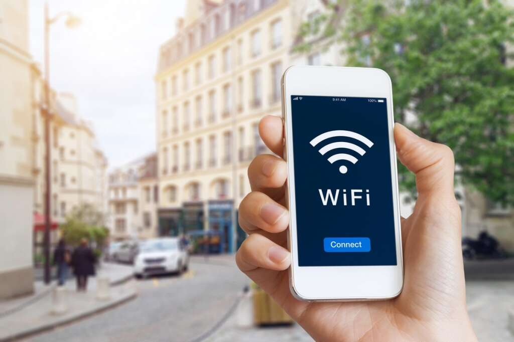 Create strong security in a public Wi-Fi system