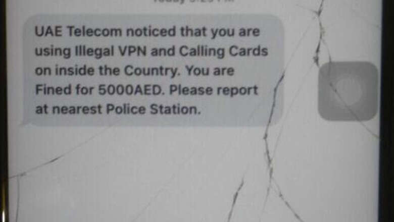 Who sent the hoax Dh5,000 illegal VPN fine SMS? - News