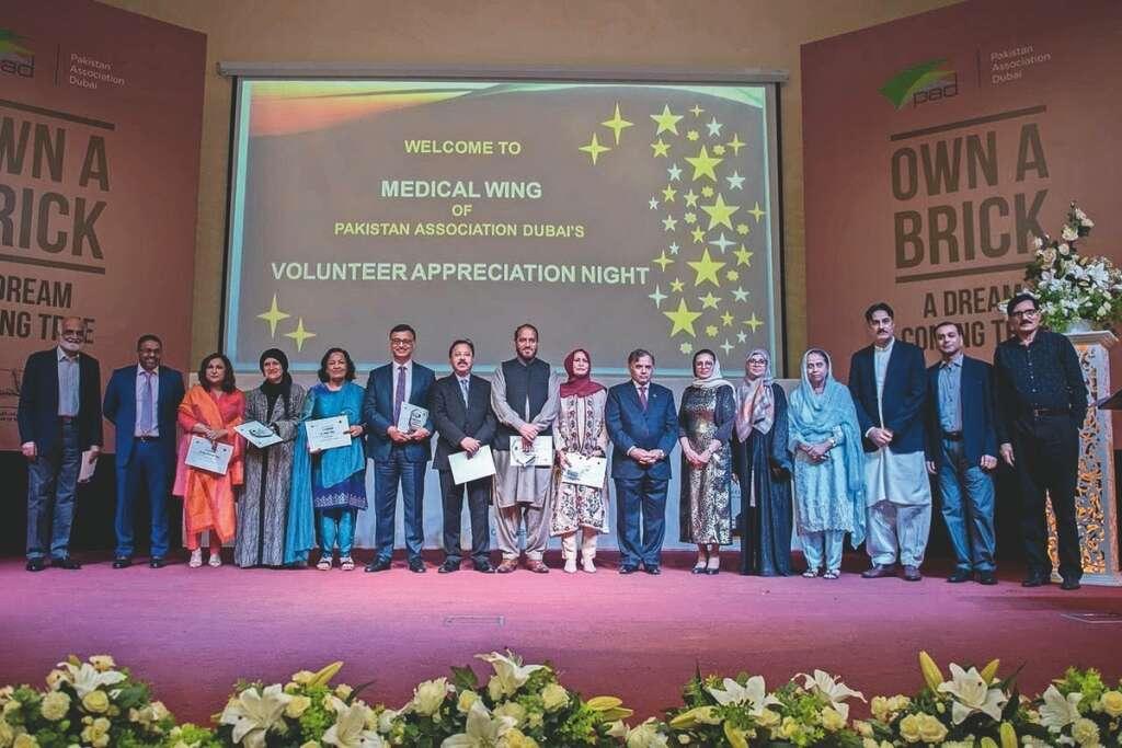 health volunteers, helping needy, pakistan, pad