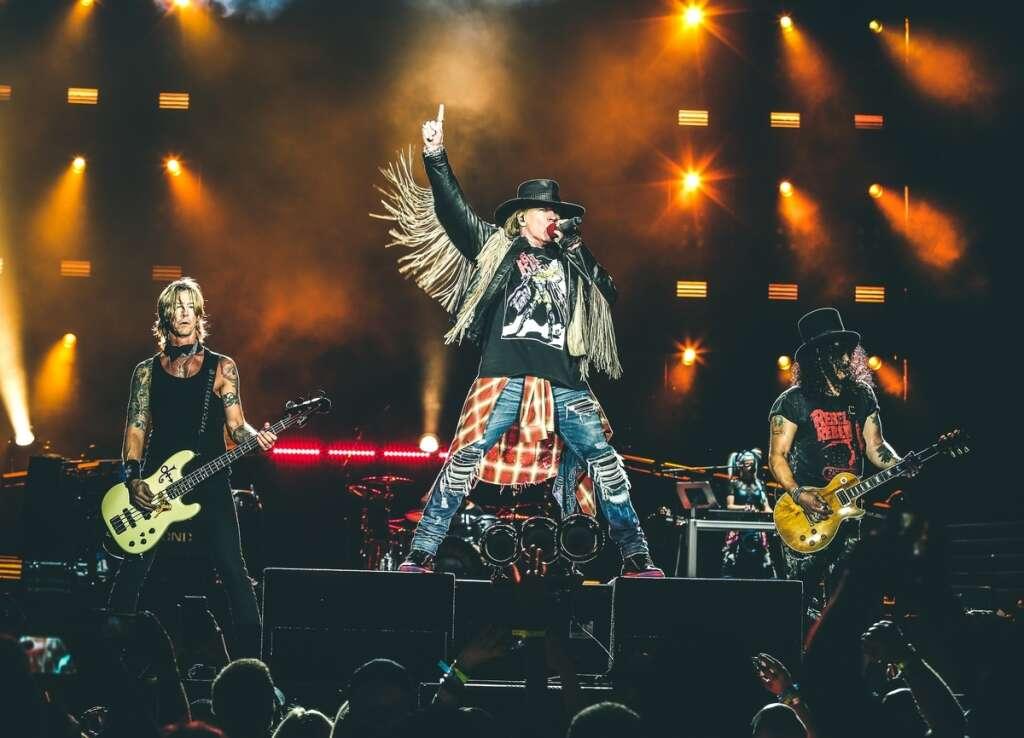 Guns N Roses at AD Grand Prix
