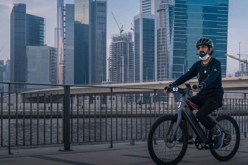 sheikh mohammed, dubai, cycles, Instagram, photos, video