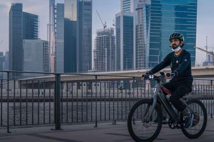 sheikh mohammed, dubai, cycles, Instagram, photos, video