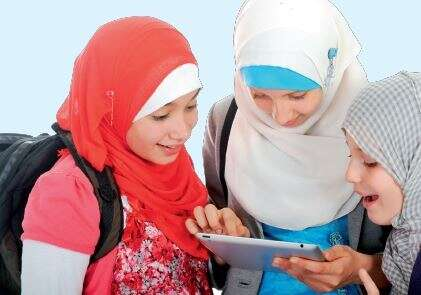 Madrasa, e-learning, 2 million users, first year, Arab world, high-tech education, 45 million views,