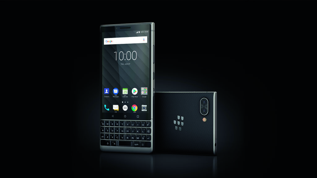TCL pulls out all the stops with new BlackBerry Key2