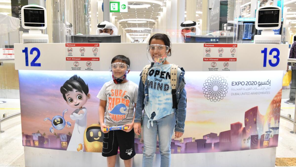 Expo 2020 Dubai: Special immigration counters for families at airport