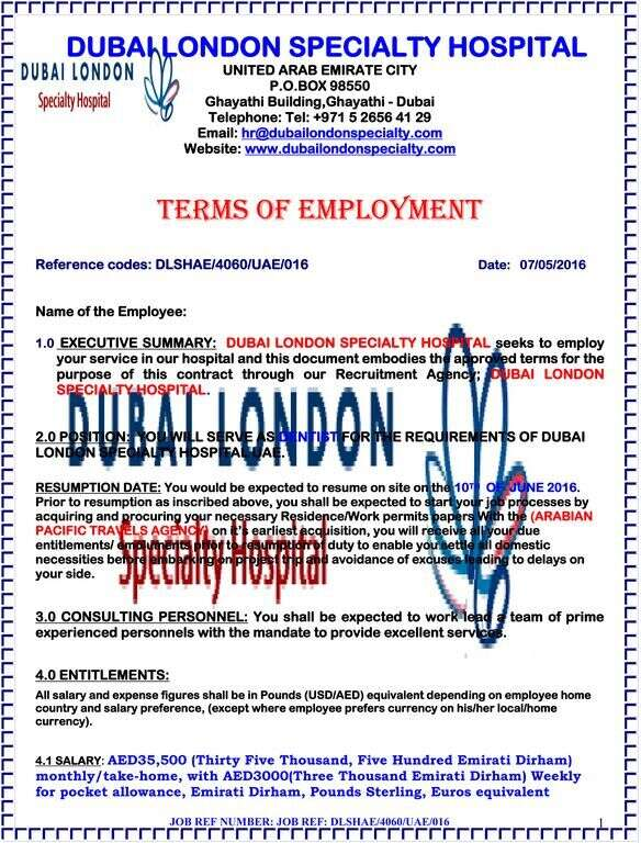 Another Dubai medical group raises job scam alert - News