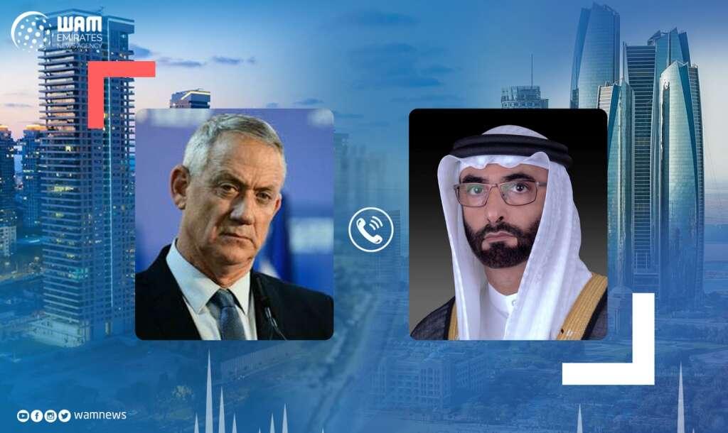 uae, Israel, defence ministers, phone call, peace treaty