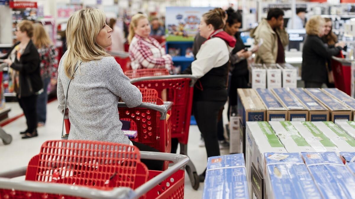 Despite online retail, Black Friday still draws crowds