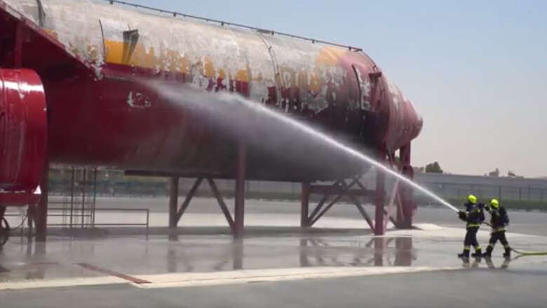 Video: This is how Dubai Airport is geared to combat fire