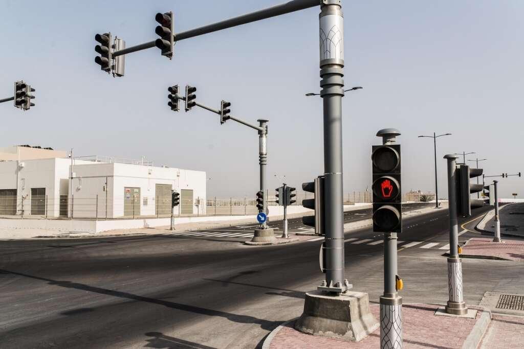 Abu Dhabi, New Years Eve, trucks, traffic