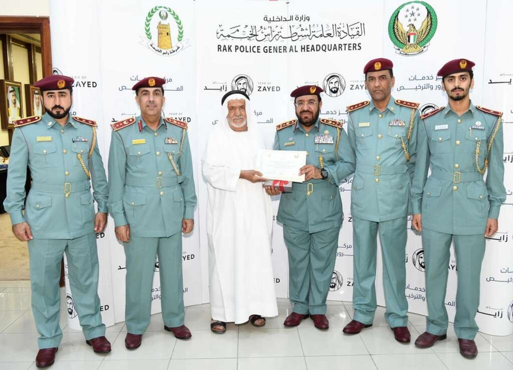 This Emirati never broke a traffic law in nearly 50 years