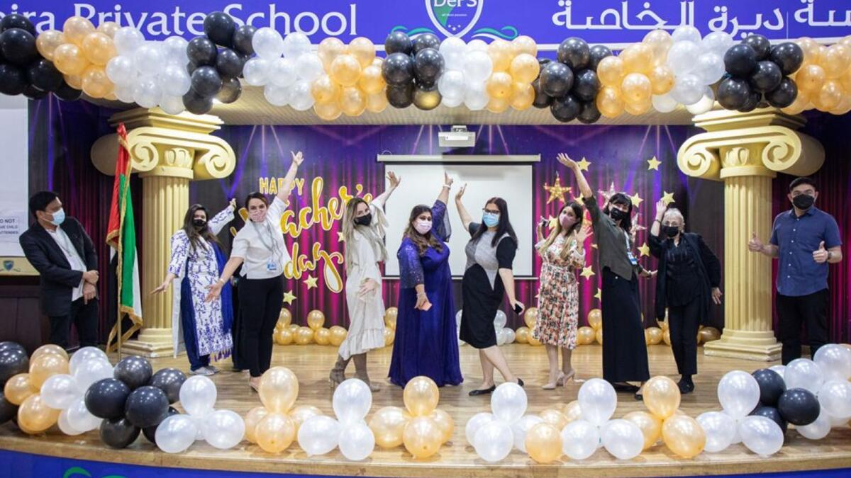 Deira Private School marks World Teachers' Day with great fanfare