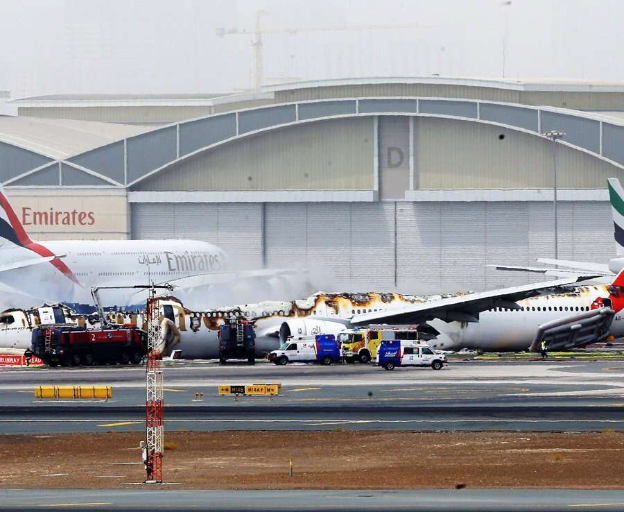 WATCH: Emirates flight makes emergency landing in Dubai