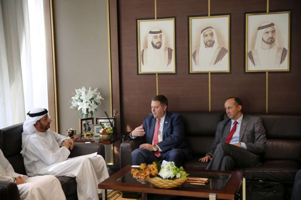 Trade relations between UAE, USA experiencing growth