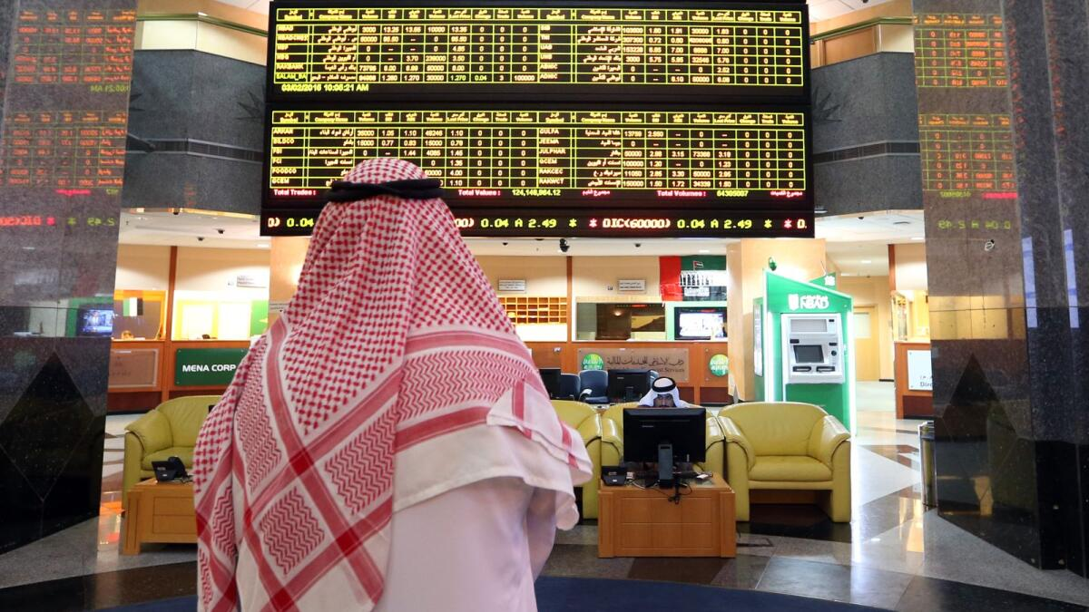 The planned deal would follow a surge of new listings on Abu Dhabi's ADX bourse this year. — File photo