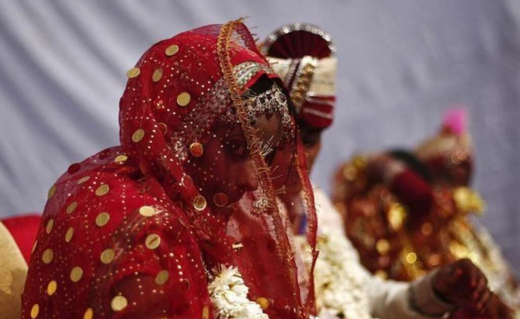 Indian groom ties knot after being shot on wedding day