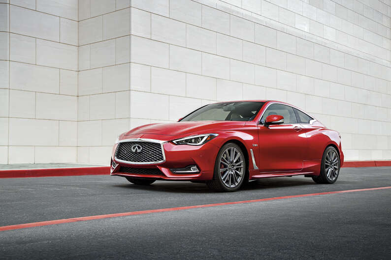 the new q60 coupe is infiniti s vision of the brand s future wrapped in a sleek sculpted body and powered by the will of 400 horses