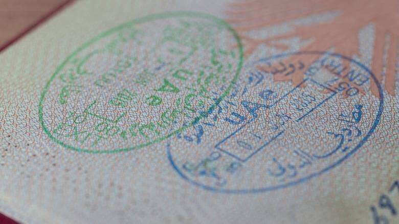 Employment,permits, residence visas, issued, automatically, UAE