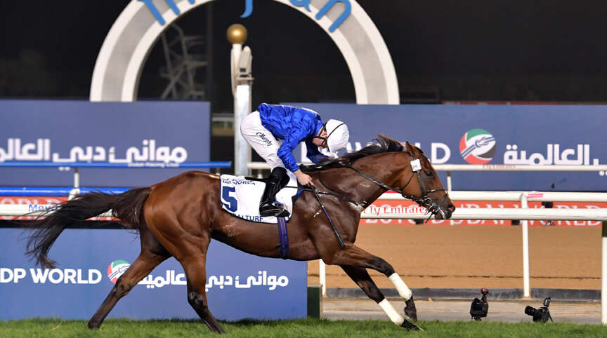 Stellar cast gathers for first Saudi Cup day