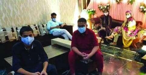 Combating, covid19, coronavirus, Groom Dubai, bride, India, tie knot, virtual nikah