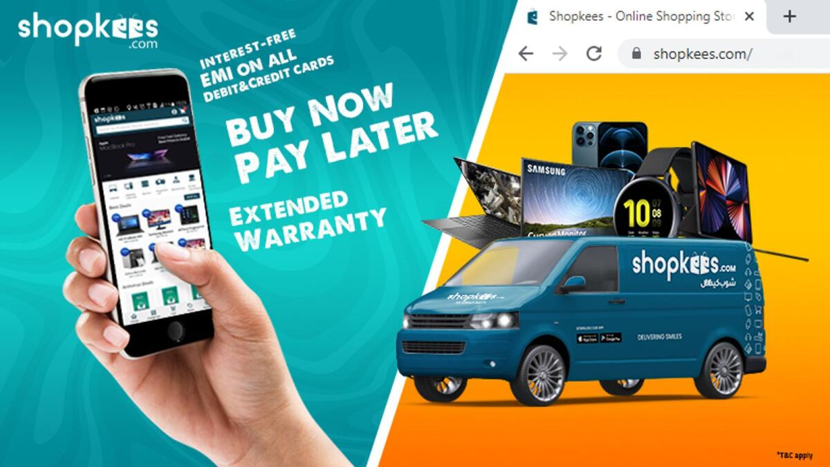 Shopkees.com woos customers with New EMI Scheme and extended warranties