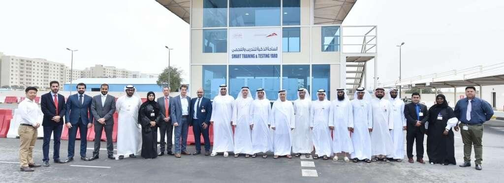 Video: RTA launches Smart Testing Yard at Dubai Driving