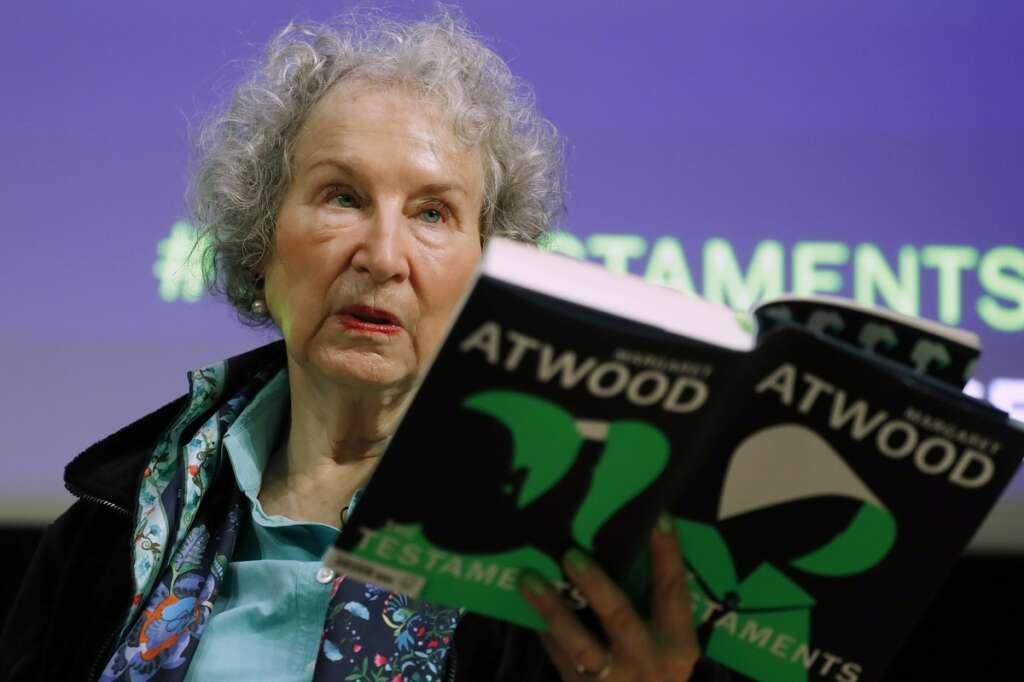 Margaret Atwood, Dayton Literary Peace Prize, honoured, award, lifetime, achievement, author, writer