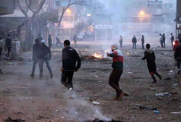 Clashes during referendum protests in Egypt kill at least three