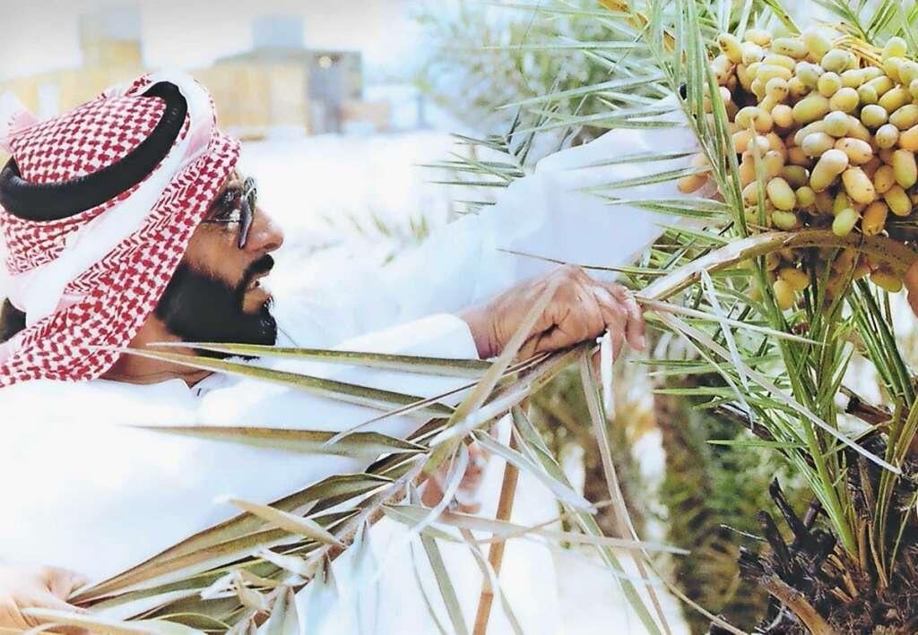 Sheikh Zayed: A green lover