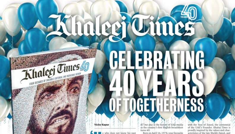 Were blessed that our 40th coincides with the Year of Zayed, the centennial of the UAEs Founder.