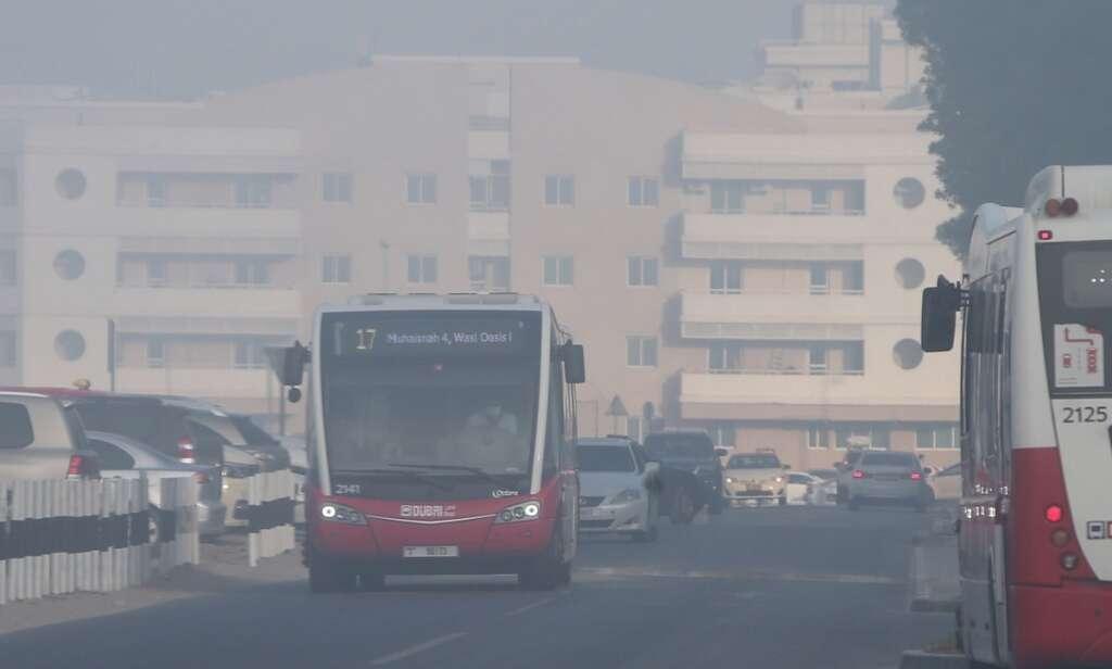 UAE, Dubai, records, 29, road accidents, fog
