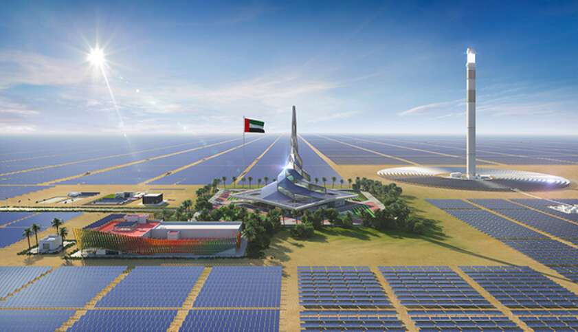 Dewa, clean energy, green energy, Mohammed bin Rashid Al Maktoum Solar Park
