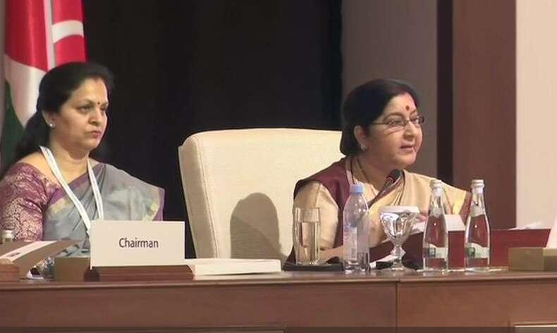 Nations should not support, fund terrorism: Sushma Swaraj