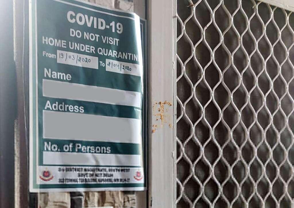 Covid-19 positive patient, quarantine centre, India