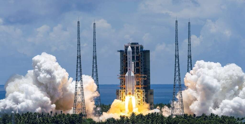 China,  Mars probe,  reusable spacecraft