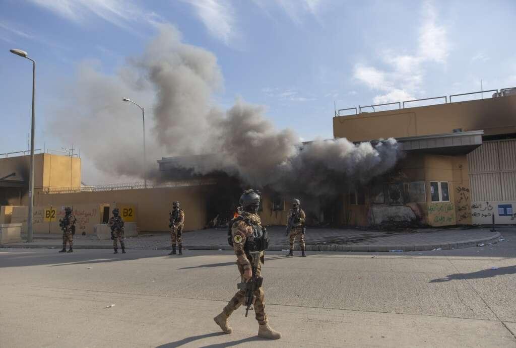 UAE, Baghdad , US embassy , Mike Pompeo, Qassem Soleimani, US, Iran, trump, Iraq, Adel Abdul Mahd