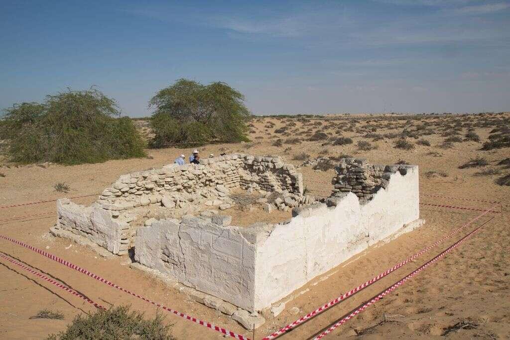 UAE rebuilding regions sun temple, brick by brick