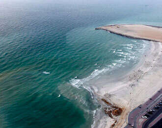 Desalination in Kalba  stopped after red tide