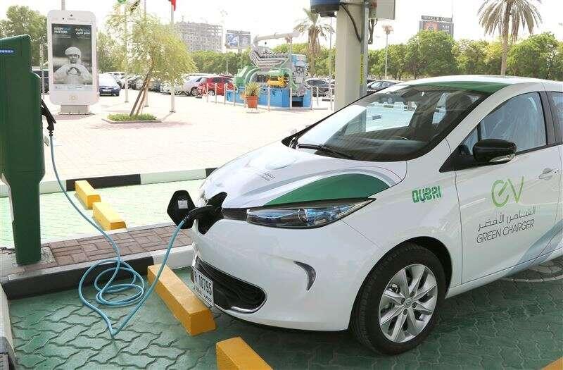 Green Charger, e-cars, Dewa