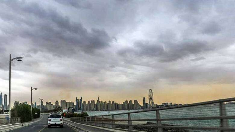 uae, weather, partly, cloudy, national center of meteorology, chance, rain, afternoon
