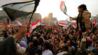 Egyptian protesters infuriated over VP's warning