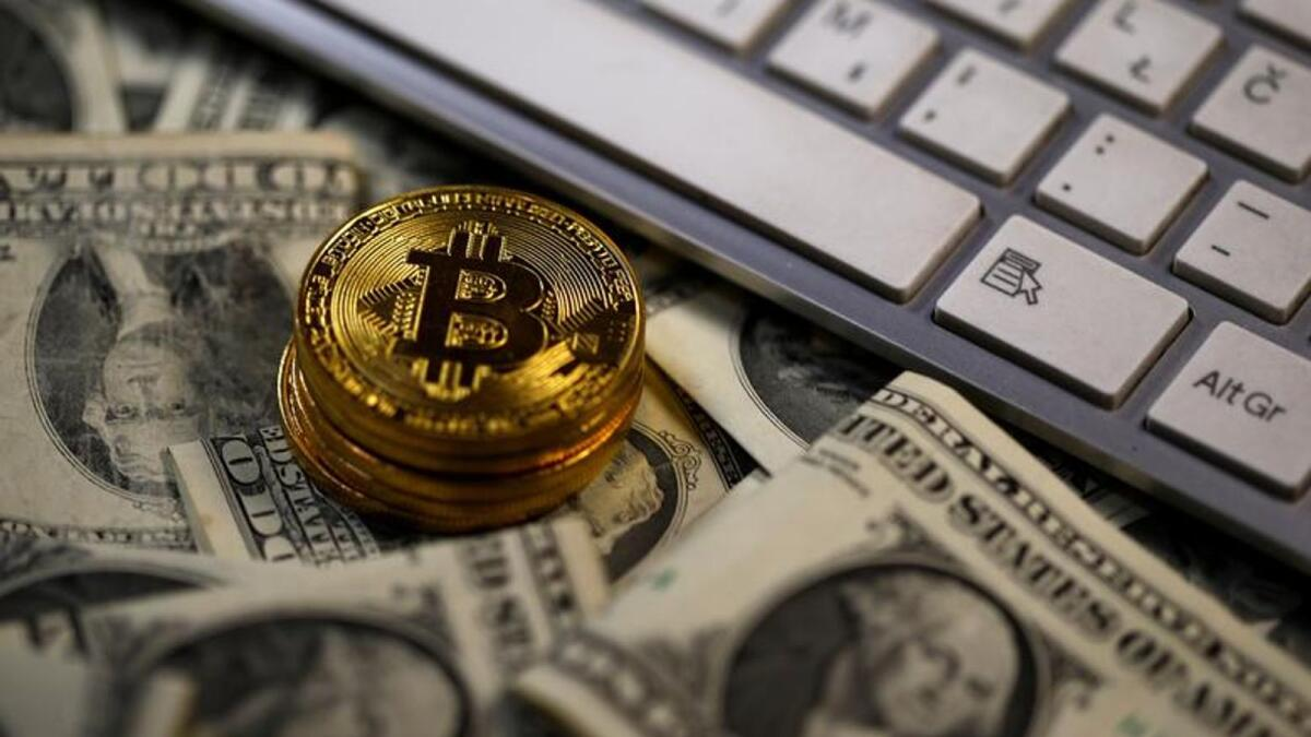 Bitcoin hit $23,238.50 on Thursday. — Reuters