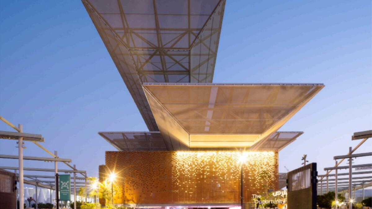 The Opportunity Pavilion at Expo 2020 Dubai. — Supplied photo
