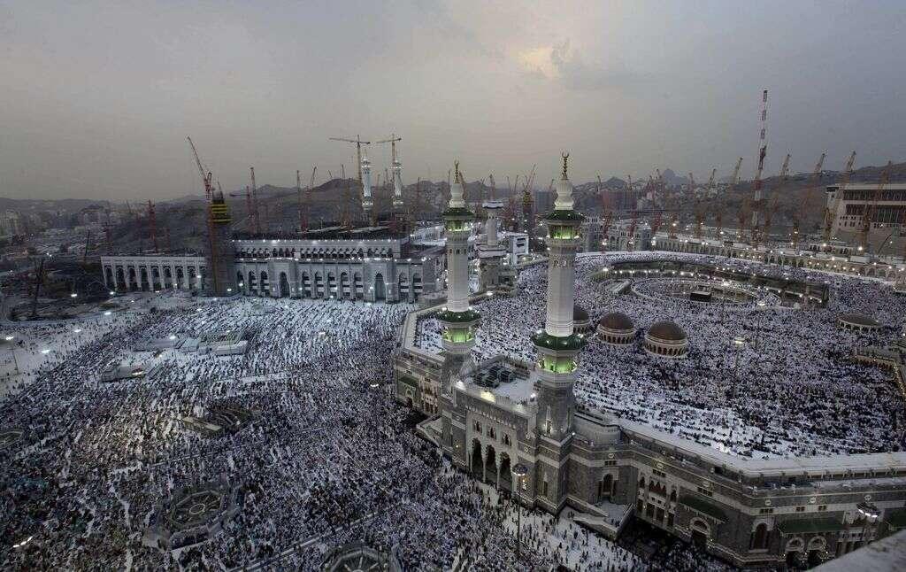 Haj to go ahead; crane collapse toll reaches 107