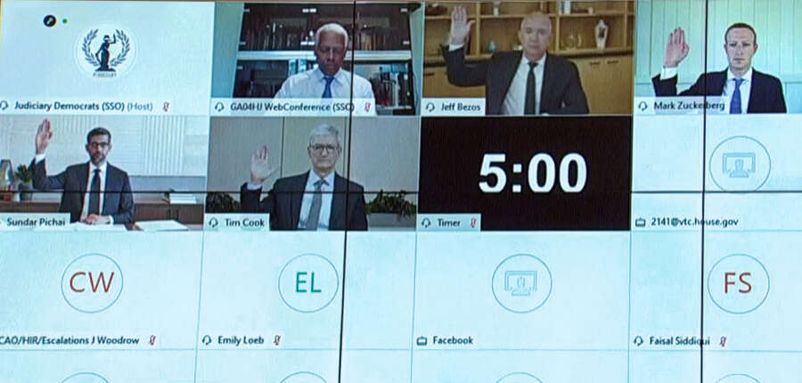 Amazon, Apple, Google, Facebook, too, powerful, emerge, from, coronavirus, pandemic, even stronger, US congressional antitrust committee, head, David Cicilline