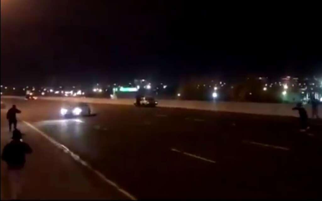 highway, road stunt, dangerous driving