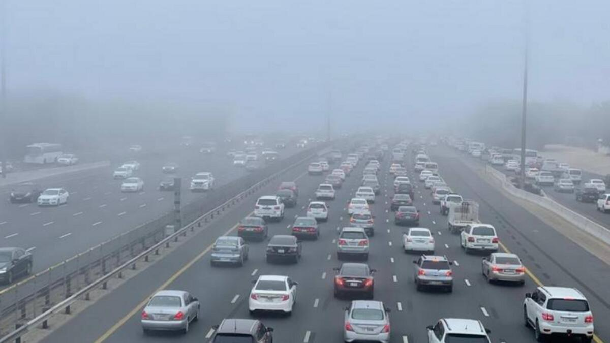 UAE weather: Foggy morning, expect slight dip in temperature