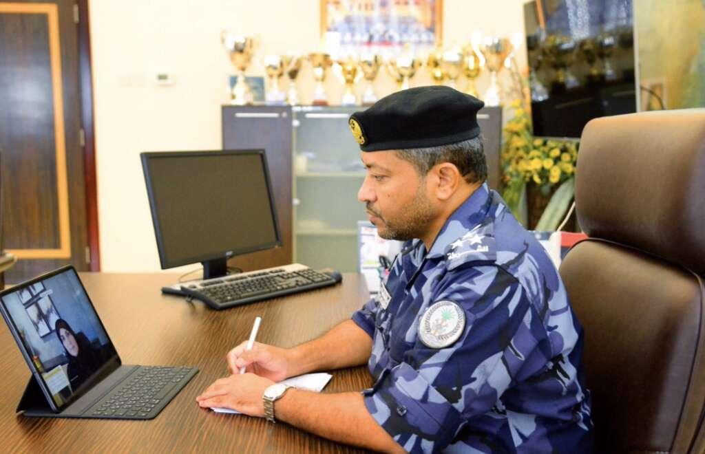 Sharjah Police  , Covid